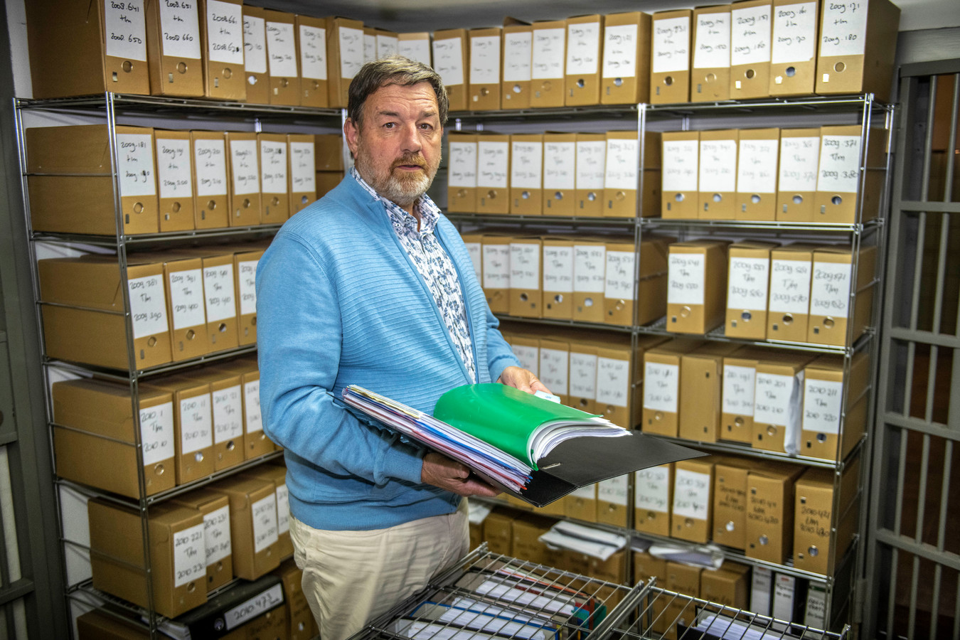 Guido Herwig heeft na 32 jaar zijn notarispraktijk overgedragen aan een opvolger.