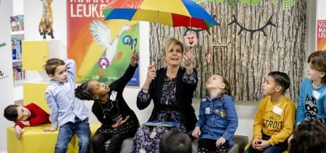 Prinses Laurentien opent nieuwe Bibliotheek Neude in Utrecht