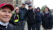 40ste bedevaart van 40 kilometer voor Jan De Brauwer van Oordegem naar Halle