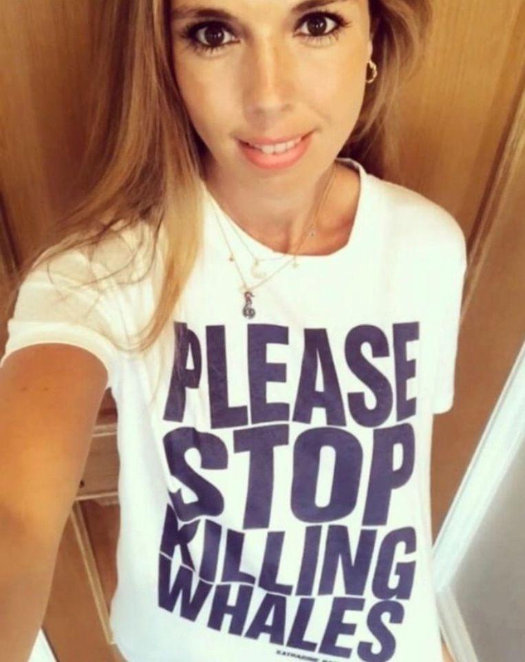 'Carrie weet hoe je een boodschap anno 2020 moet overbrengen, en haar standpunten, vooral over het milieu, slaan aan bij de jongere generaties.' Beeld Instagram