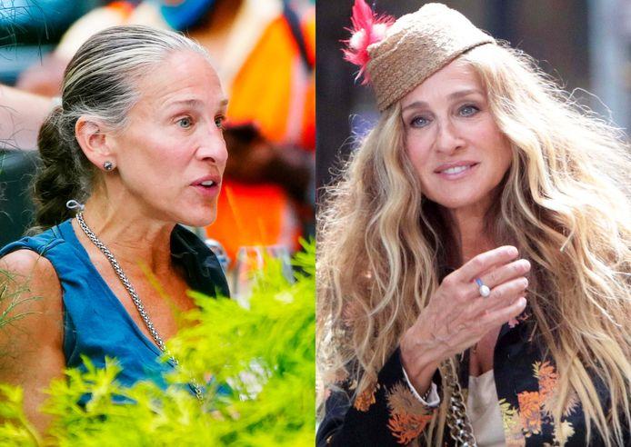 Sarah Jessica Parker (56) ziet er weer helemaal uit als de Carrie Bradshaw van weleer.
