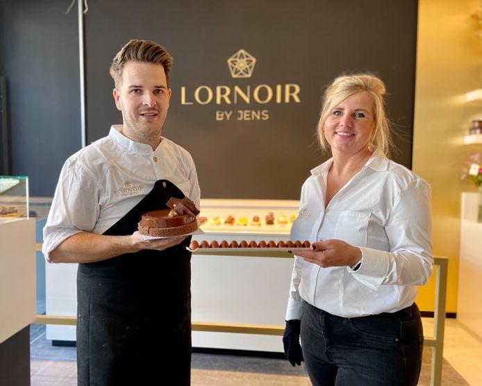 Jens en Juanita van de nieuwe delicatessezaak Lornoir by Jens op de Turnhoutsebaan in Schilde