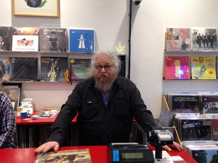 Gerrit Hazen van Recordfriend Beeld Het Parool