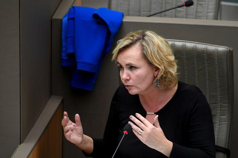 Vlaams minister van Gelijke Kansen Liesbeth Homans (N-VA). Beeld BELGA