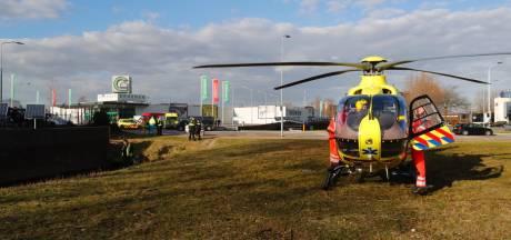 Hulpdiensten rukken massaal uit naar Veldhoven voor te water geraakt persoon: niemand aangetroffen