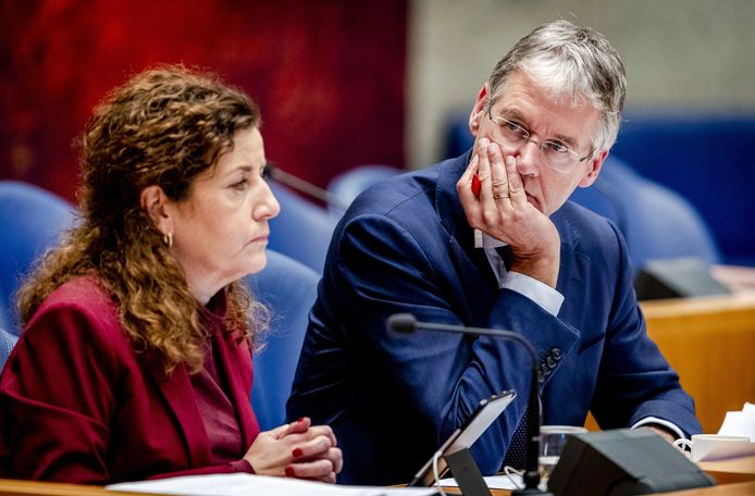 Onderwijsministers Ingrid van Engelshoven en Arie Slob debatteerden woensdag en donderdag in de Tweede Kamer over de onderwijsbegroting.