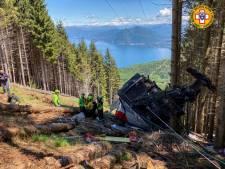 Accident de téléphérique en Italie: le bilan monte à 14 morts