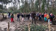 Leerlingen Campus Kajee planten eerste 'tiny forest' in België