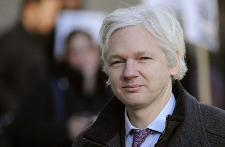 Julian Assange Beeld epa