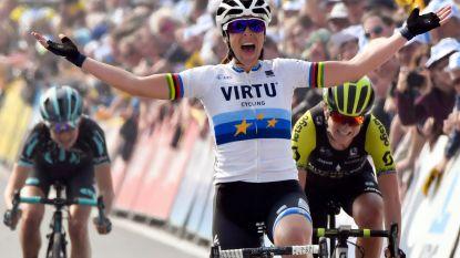 Bastianelli maakt favorietenrol waar in Ronde van Vlaanderen voor vrouwen