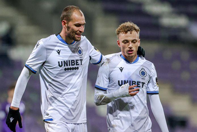 Club Brugge-aanvallers Bas Dost en Noa Lang spelen om 21.00 uur thuis tegen Oostende.