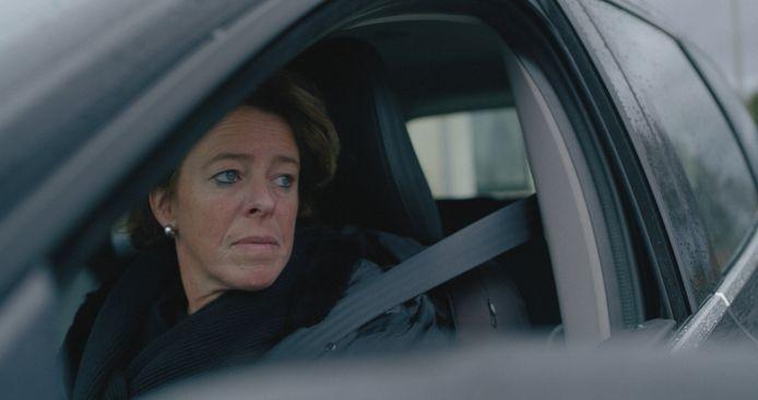Een beeld uit de film. Moeder Ilona Lambregts mag met twee van haar drie kinderen geen contact hebben.