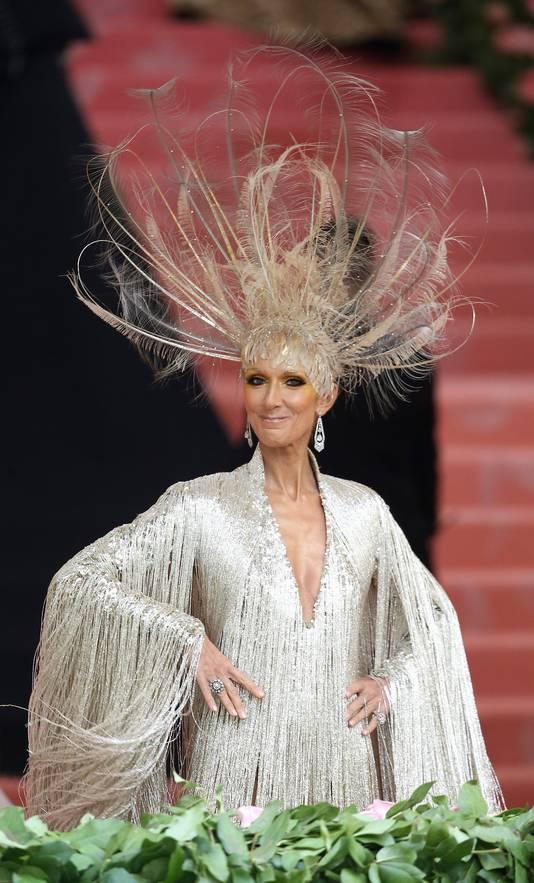 """Céline Dion, au Gala du MET, dont le thème était """"Camp: Notes on Fashion"""""""