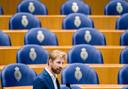 Dennis Wiersma (VVD) tijdens het wekelijks vragenuur in de Tweede Kamer.