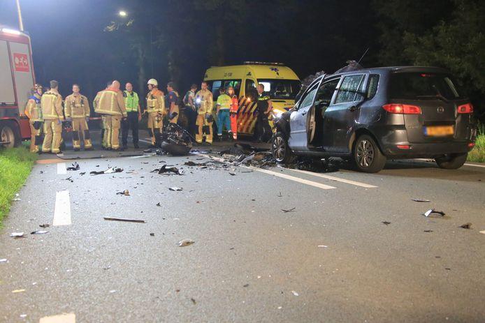 Dodelijk ongeluk in Lieshout.