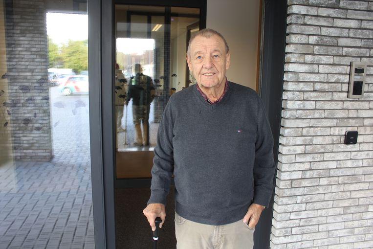 Marcel De Gols (79) voor woonzorgcentrum Faluintjes.