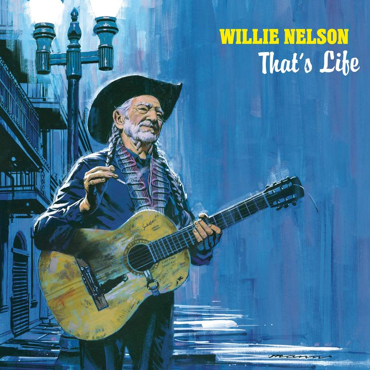 Willie Nelson, That's Life. Beeld