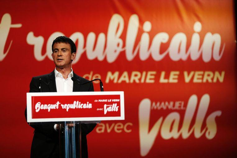 De Franse Premier Valls zei in juni tijdens het