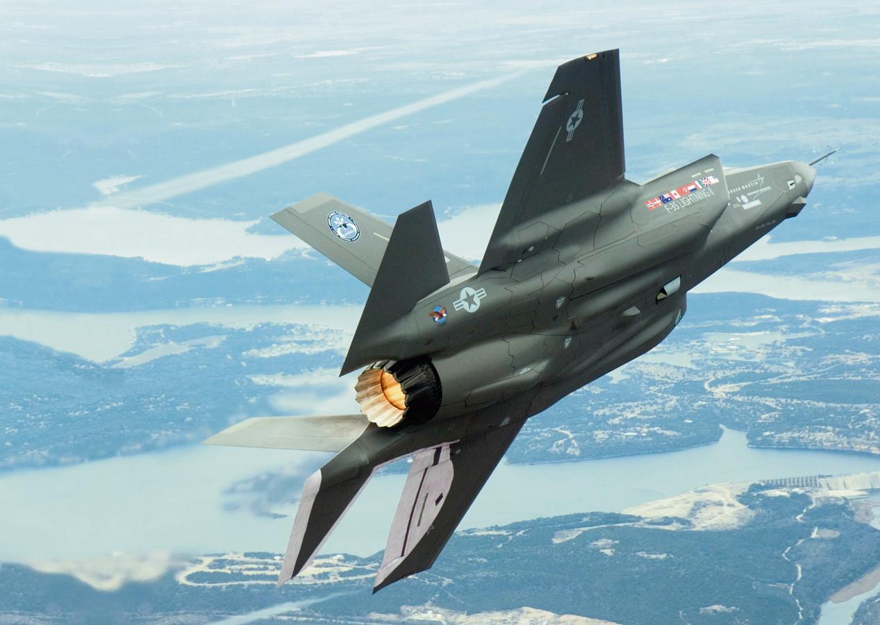 Een Joint Strike Fighter maakt meer geluid dan een F16.