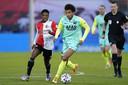Calvin Stengs gaf vorige maand in het eredivisieduel met Feyenoord de winnende assist.