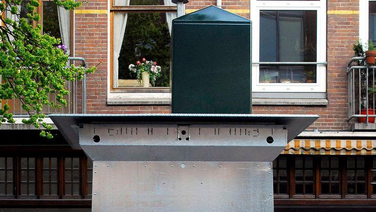 De ondergrondse vuilcontainer raakte vooral in zwang door veranderde arboregels en milieuwetgeving Beeld Hollandse Hoogte