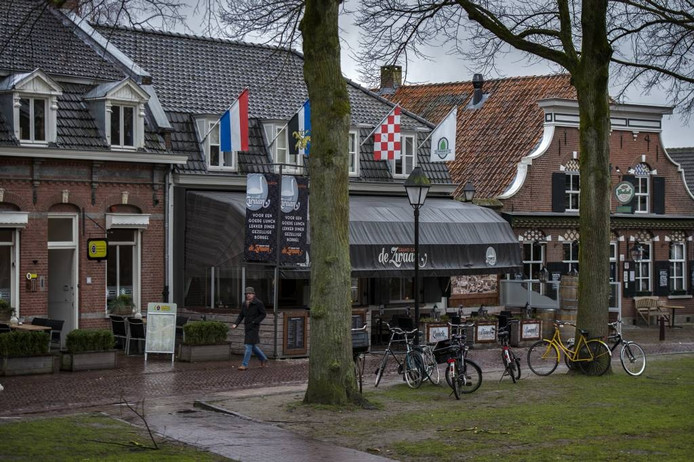 Terrassen op de Vrijthof in Hilvarenbeek