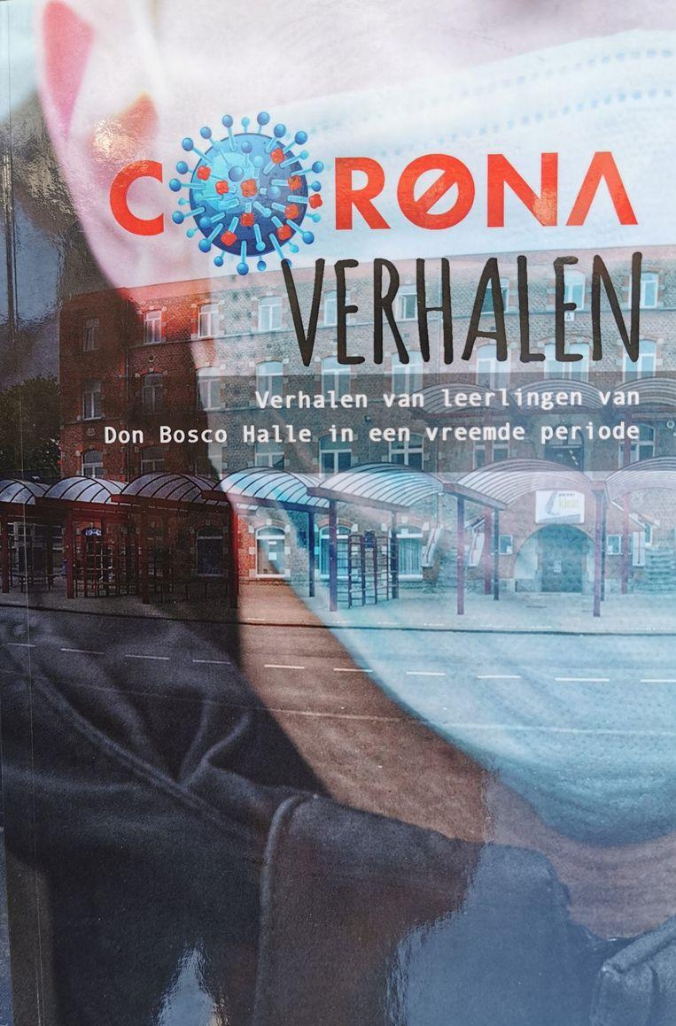 Philippe Hemelsoet bundelde de verhalen van zijn leerlingen in het boek 'Coronaverhalen'.