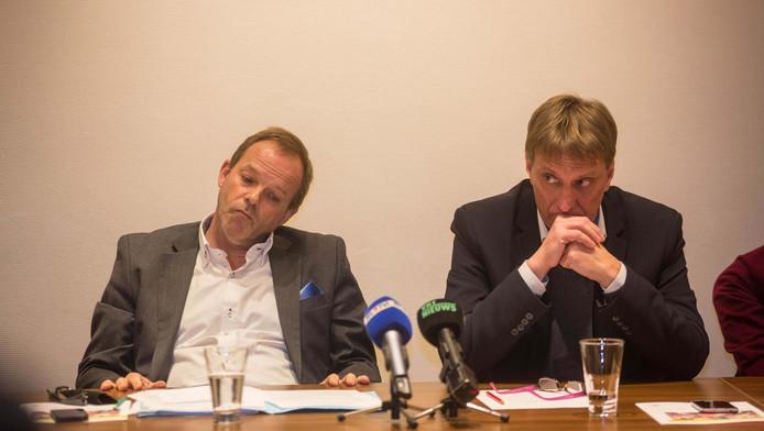 Yves Ghequière (à droite)