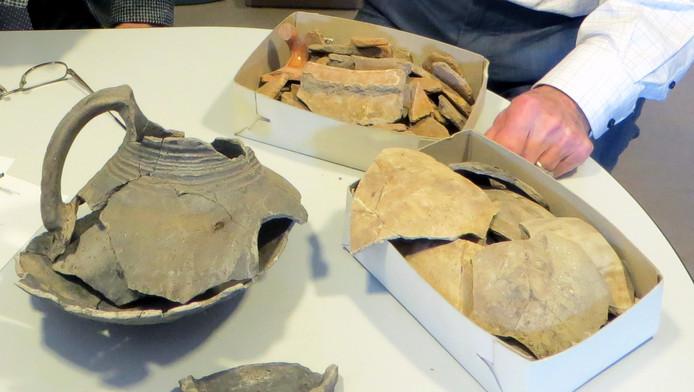 Archeologische scherven uit Veldhoven