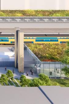 Impressies: Groene Spoorlaan & nieuwe fietsenstallingen station Tilburg