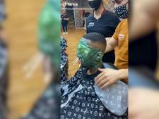 Boxmeerse kapper gaat viral op TikTok, maar huidexperts maken zich zorgen
