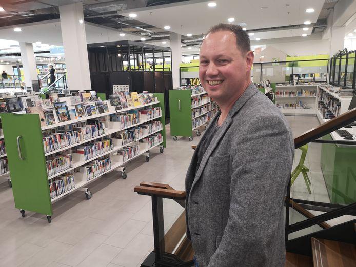 Kevin de Kok van Bibliotheek Zoetermeer.