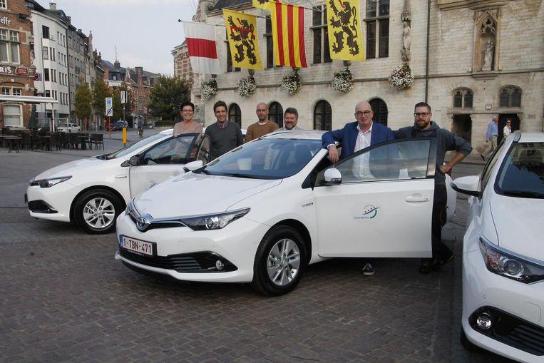 Stadsdiensten Rijden Voortaan Met Hybride Wagens Dendermonde