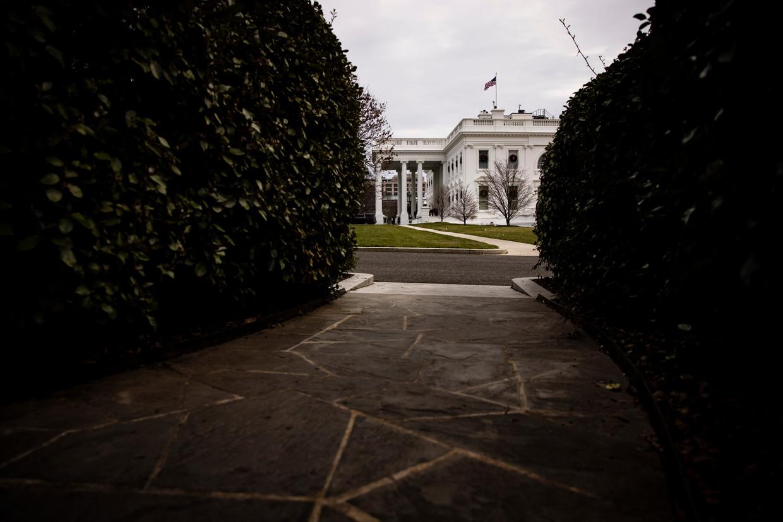 Het Witte Huis in Washington. Als voormalig president weet Bill Clinton alles over het gebouw. Dat kwam goed van pas bij het schrijven van de thriller. Beeld Getty Images