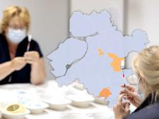 KAART | 19 gemeenten zonder nieuwe corona-gevallen, Brummen neemt twijfelachtige eer over