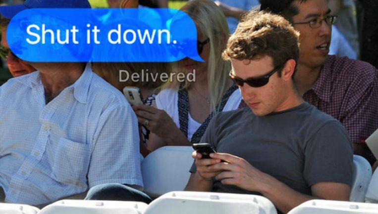 De meme met de slogan 'The goyim know, shut it down!' ('de niet-Joden weten ervan, zet alles stil!) is er ook in talloze varianten. Hierin worden Joodse samenzweringstheorieën nagebootst en bespot door een foto van een bekend Joods persoon af te beelden met een telefoon. Soms staat er alleen 'shut it down', zoals bij een foto van Facebook-oprichter Mark Zuckerberg. Beeld