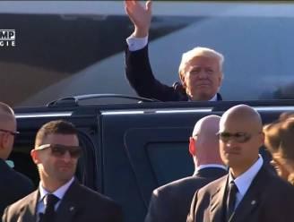 Steak en bloed: Dit zit in bagage van Trump