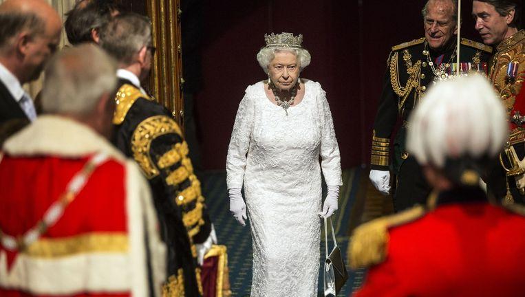 Koningin Elizabeth. Beeld Getty Images