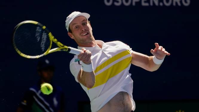 Van de Zandschulp trekt goede lijn door en zet Nederland op voorsprong in Davis Cup