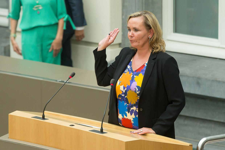 Liesbeth Homans. Beeld BELGA