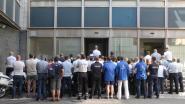 Politiezone keert hun knokkende korpschef symbolisch de rug toe