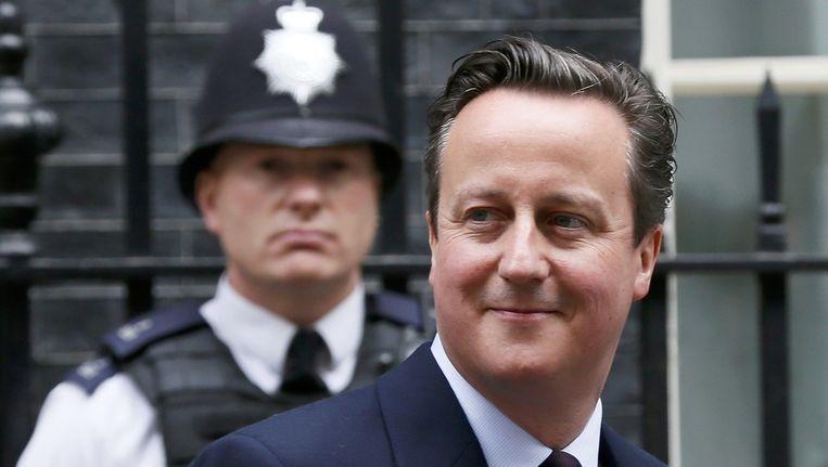 De Conservatieve leider David Cameron. Beeld reuters
