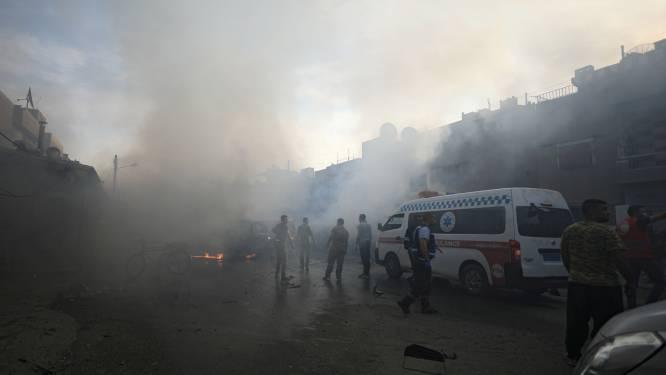 """""""Jihadisten ontsnappen na Turks bombardement"""""""