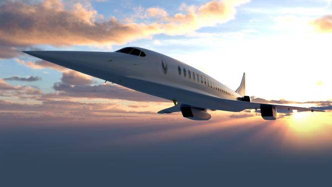 United Airlines investeert in supersonisch vliegen