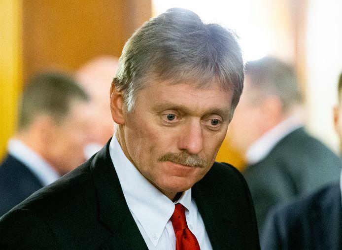Dmitry Peskov is sinds jaar en dag de woordvoerder van Russische president Vladimir Poetin.