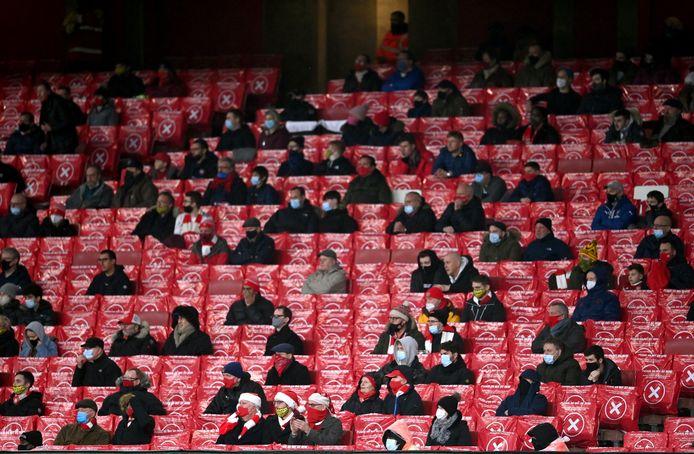 Fans van Arsenal.