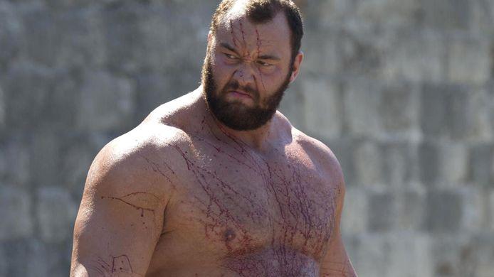 """La Montagne"" de ""Game of Thrones"", alias Hafthor Julius Björnsson."
