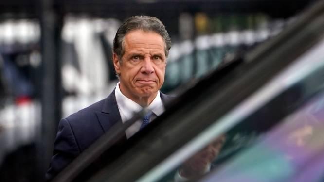 Gouverneur Cuomo van New York dient pensioenaanvraag in