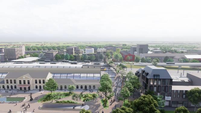 Dit wordt de gloednieuwe loopbrug over het spoor in Zwolle (en ze kost vele miljoenen)