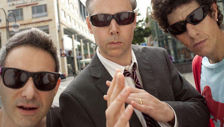 Het New Yorkse drietal Beastie Boys maakt voortaan deel uit van het Amerikaans muzikaal erfgoed. Beeld AP